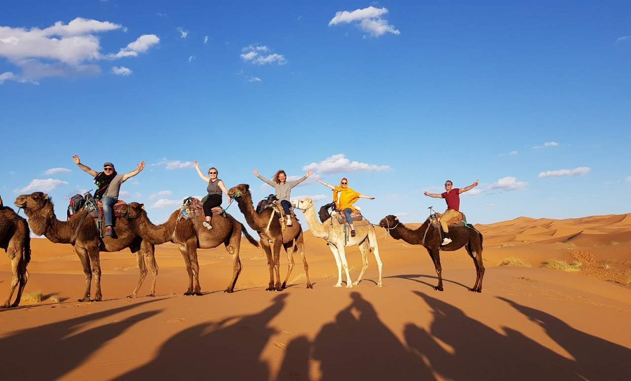 Marrakech camel ride trip