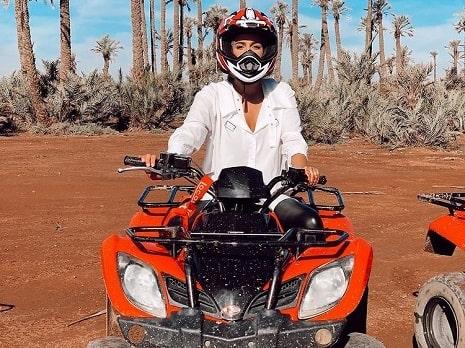quad biking marrakech