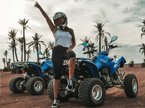 quad biking experience Marrakesh